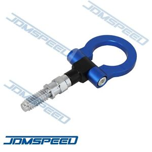 New Blue For Bmw Cnc Euro Racing T2 Tow Hook M E46 E81 E30 E36 E90 E91 E92 E93 3