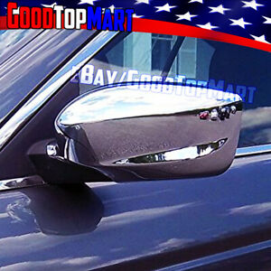 For Honda Accord 2008 2009 2010 2011 2012 Chrome Full Mirror Covers Stick On