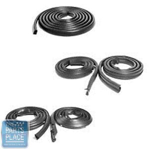 1971 74 Dodge Charger Weatherstrip Seal Kit 5 Pieces