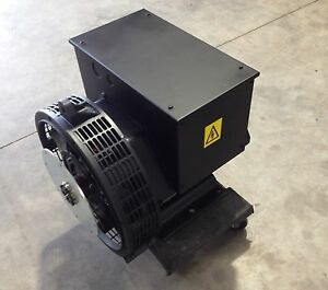 Generator Alternator Head 21 Kw Pdg Industrial 1 Phase Sae 4 7 5 120 240 Volt