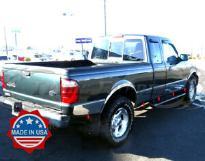 1993 2004 Ford Ranger Extended Cab 2wd Long Bed Rocker Panel Trim No Flare 8 5
