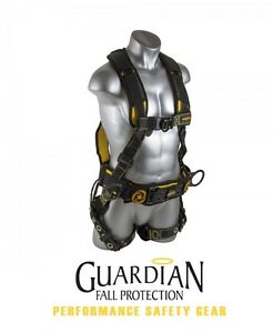 Guardian 21036 Cyclone Construction Harness With Chest Quick connect Buckle 2xl