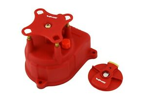 Red Oe Pro Style Racing Distributor Cap Rotor For 92 95 Honda Civic Eg D15 D16