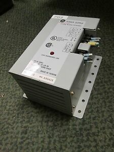 Ge Power Supply Plps4g01 Input 115 240vac 125 250vdc Output 24vdc 0 1 5a Used