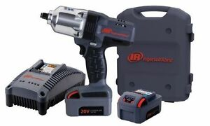 Ingersoll Rand 20v Iqv 1 2 Cordless Impact Wrench Kit 1100 Ft Lbs Ir W7150 k2