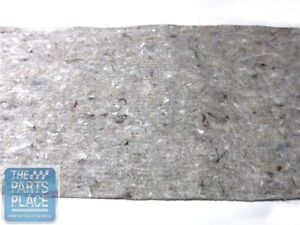 1968 72 Chevrolet Monte Carlo Chevelle Package Tray Jute Insulation