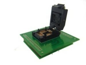 Adp 096 Altera Pqfp100 To Dip Jtag Adapter For Epm7128sqc100 14x20mm