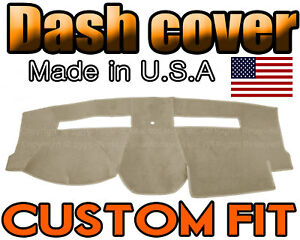 Fits 2008 2010 Chrysler Town Country Dash Cover Mat Dashboard Pad Beige