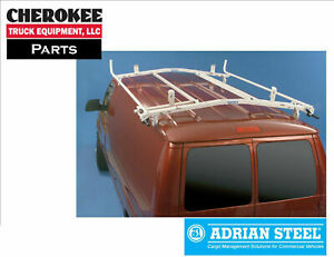Adrian Steel 64 fdeco 7ft Double Grip lock Ladder Rack For Ford Econoline