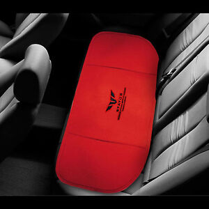 Status Car Rear Seat Cushion Mat Hips Support Pad For All Vehicle 4seasons Red