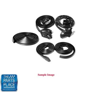 1963 64 Ford Galaxie Weatherstrip Seal Kit Door Roof Trunk 5 Pieces