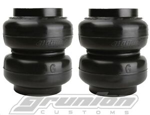 Slam Specialties Ss 6 Air Suspension Sport Bags Springs 2 Pack Custom Lowrider