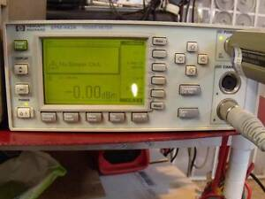 Hp agilent Epm 442a Epm Dual channel Power Meter good Working Calibrated