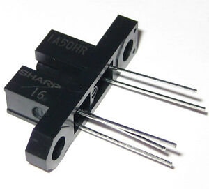 Sharp Slotted Optical Switch With Bracket Photointerrupter 1a50hr 3 Mm Gap