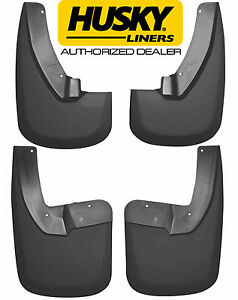 Husky Mud Guards Flaps For Dodge Ram 1500 2500 3500 W Fender Flares Front Rear
