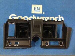 69 Camaro Dash Instrument Housing Plastic Guage Bezel Gm Restoration Parts