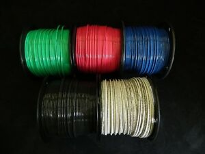 12 Gauge Thhn Wire Solid Pick 4 Colors 100 Ft Each Thwn 600v 90c Cable Awg