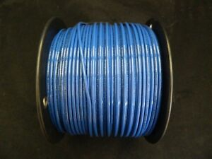 12 Gauge Thhn Wire Stranded Blue 100 Ft Thwn 600v Building Machine Cable Awg