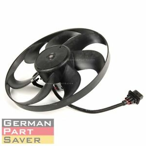 Topaz Left Engine Auxiliary Radiator Cooling Fan Motor For Vw Golf Jetta Audi Tt