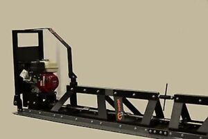 New Packer Brothers Pb37 Power Concrete Cement Truss Screed Honda Made In Usa