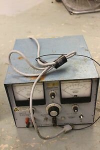 Buchler Instruments D c Power Supply 3 1014a Voltage Current Regulated