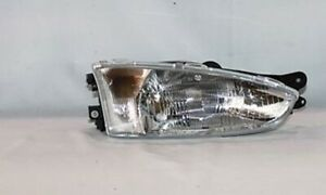 Right Side Replacement Headlight Assembly For 1997 2002 Mitsubishi Mirage Coupe