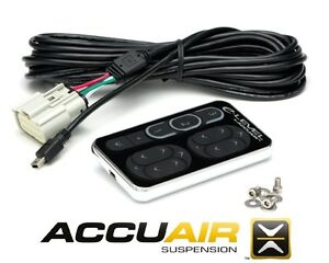 Accuair E Level Touchpad Control Kit Nickel Finish Custom Air Bag Suspension