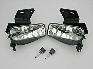 Fog Lights Lamps Pair Bulbs 2000 2006 Chevy Suburban Tahoe 1999 2002 Silverado