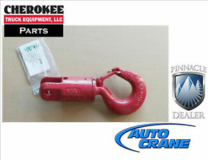 Auto Crane 480366000 Hook swivel 6 Ton For 8000 12000 Series Cranes