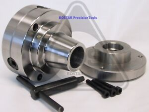 Bostar 5c Collet Lathe Chuck Closer With Semi finished Adp 1 1 2 X 8 Thread