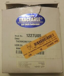 Thomas Traceable Hi accuracy Monitoring Thermometer
