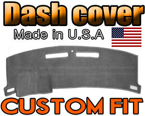 Fits 2010 2015 Chevrolet Camaro Dash Cover Mat Dashboard Pad Charcoal Grey