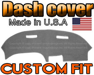 Fits 1970 1978 Chevrolet Camaro Dash Cover Mat Dashboard Pad Charcoal Grey