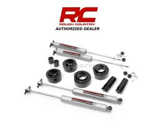 93 98 Jeep Zj Grand Cherokee 4wd 1 5 Rough Country Suspension Lift Kit 68530