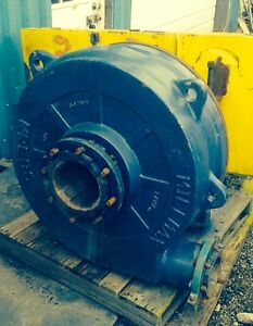 Krebs Millmax Slurry Pump Model Mm200 With Motor Mount Belt Guard