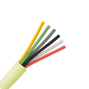 Eagle 500 Ft 24 Ga Cable 6 Conductor Solid Copper Wire Pvc Jacket Control 1k