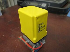 Potter Brumfield Time Delay Relay W Base Cda 38 70012 Fixed 1sec Used