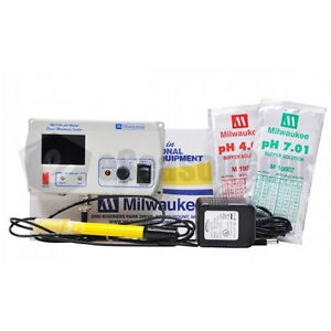 Milwaukee Instruments Mc110 Ph Continuous Monitor Meter Sms110