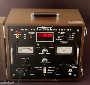 Eil Avo Biddle Megger Multi amp Fts 300 Frequency Test Set b12 3022 1