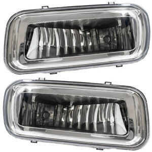Ford F 150 Lincoln Mark Lt Pickup Truck Set Of Fog Lights Rectangular Lenses