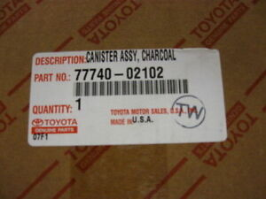 2000 2002 Genuine Toyota Corolla Charcoal Canister 77740 02102 Oem New Part