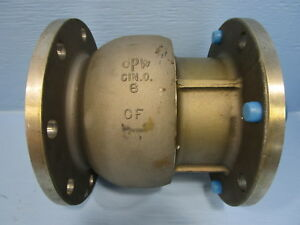 New Opw 3620f 0601 6 A356 Aluminum Swivel Joint Style 60 Flanged 3000 Series Cf