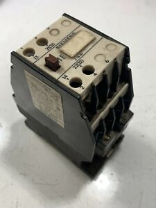 Siemens Washer Contactor For Continental Girbau P n 3tb40 12 0a used