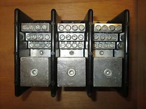 Usd Terminal Block 16432 Line 1 3 0 8 Load 12 4 14 3p Used
