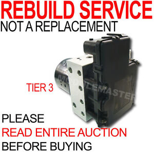 Rebuild Repair For Mercedes Ml Series 320 430 500 Abs Module Pump Motor Tier 3