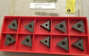 Sandvik Coromant 175 2 852 Lathe Carbide Inserts 10 Pcs New