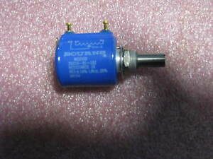 Bourns Variable Resistor 3501h 91 102 Nsn 5905 01 027 5483 Res 1k