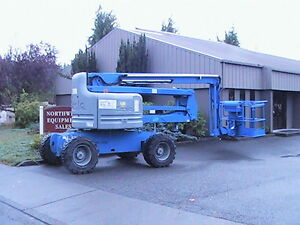 Genie Z60 34rt Rough Terrain Boom Lift Z boom 2056