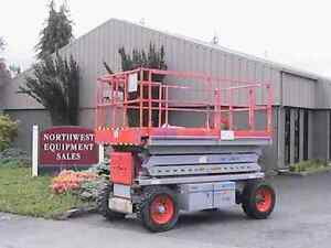 Skyjack Sj7127 Rough Terrain Scissor Lift 3037