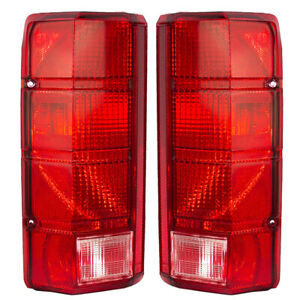 80 86 Ford Bronco Pickup Truck Set Of Tail Lamps E4tz13405b E4tz13404b